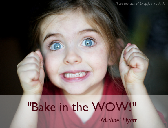 BAKE IN THE WOW